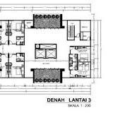 17. DENAH LANTAI 3