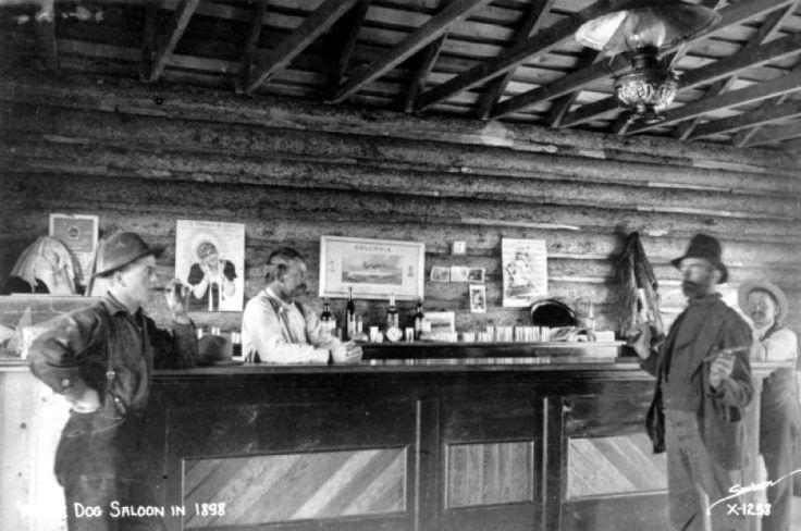 Настоящие ковбои дикого запада в барах, начало XX века.