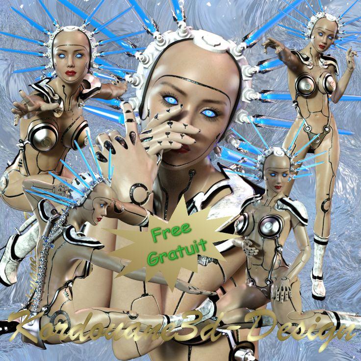 Tube de femme robot (science fiction)