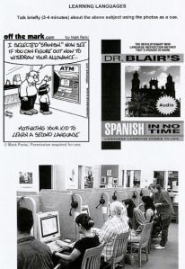 Pass your Speaking.   This blog is aimed at students who want to pass their Speaking Exam in EOI from Spain (level B2)   Page 3
