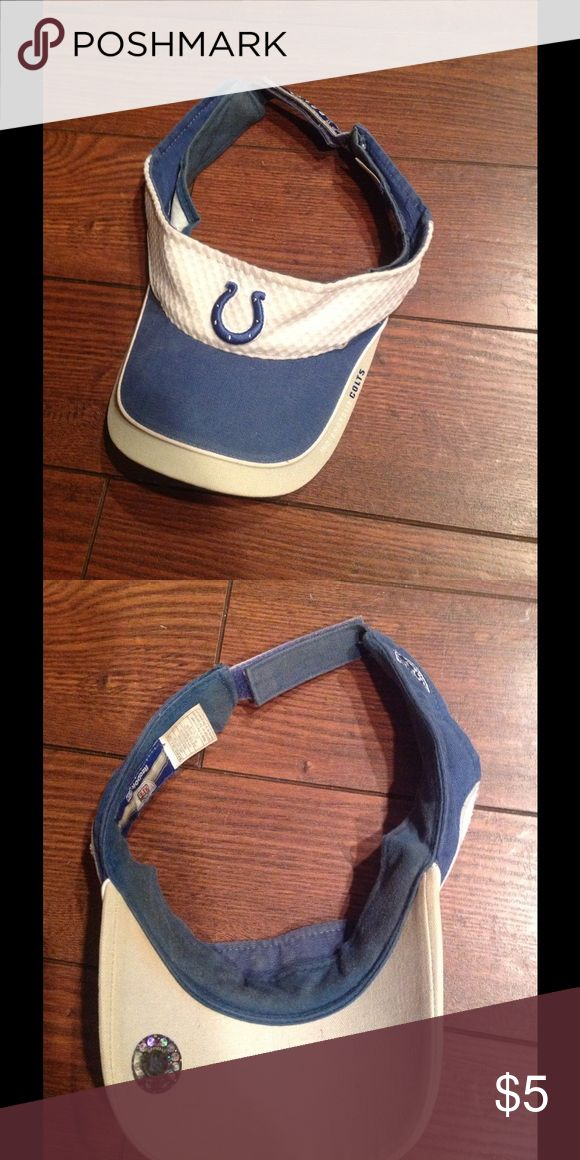 Colts Hat! Colts sun visor hat used condition!!! Accessories Hats