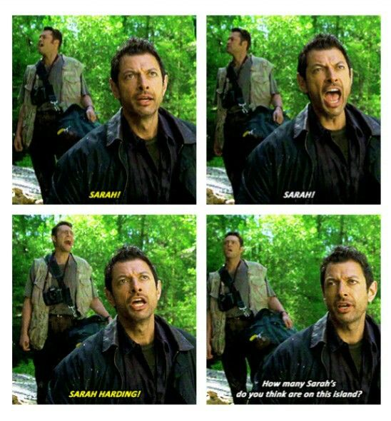 I forgot how fluent Ian became in sarcasm since the first film xD