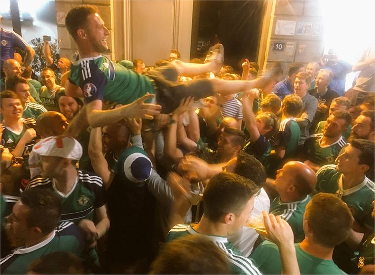 VIDEOS: Northern Ireland fans throw best party of Euro 2016