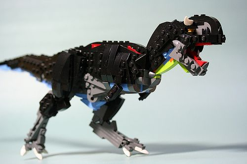 HOW TO Carnotaurus | LEGO dino is beauto | The Brothers Brick | LEGO Blog