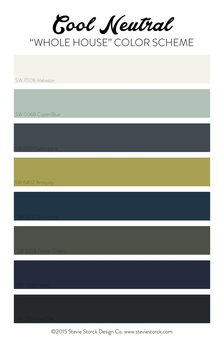 1000 images about color ideas on pinterest paint colors for Whole house neutral paint colors