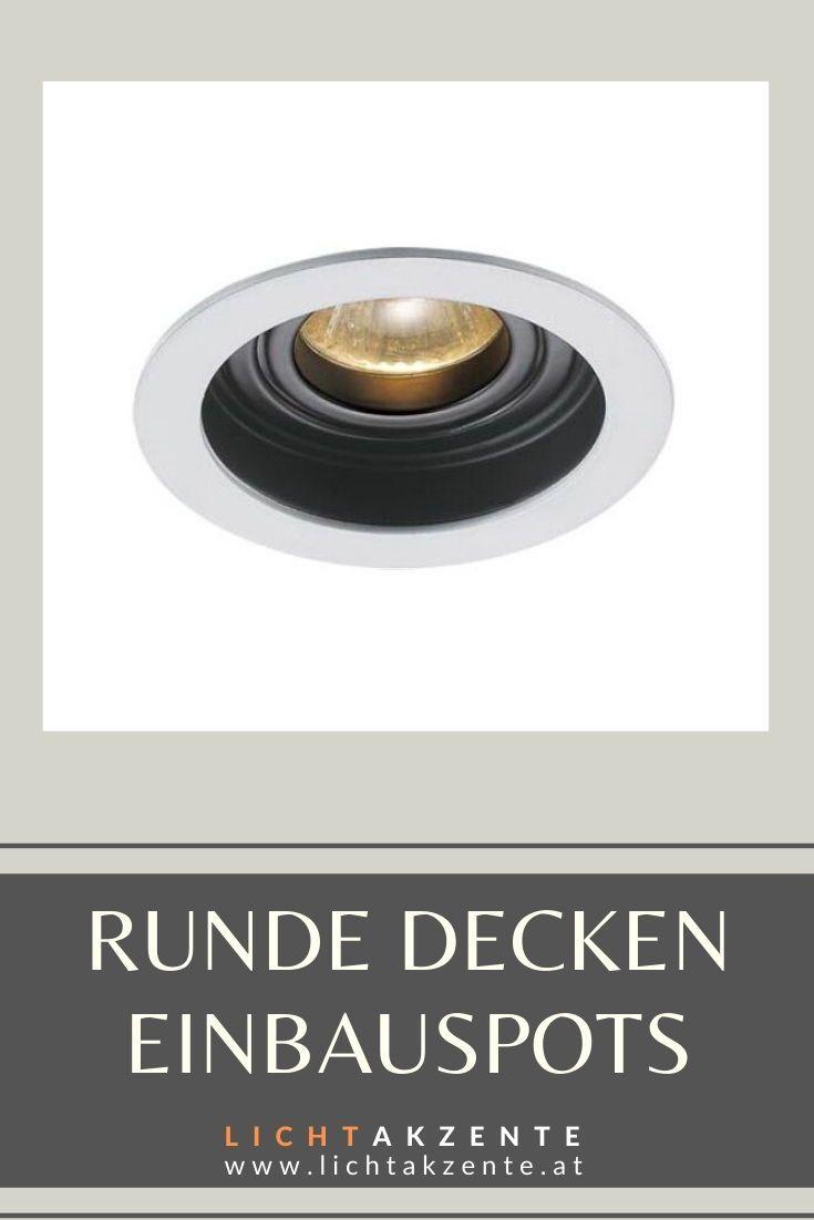 Runder Einbaustrahler Sundi GU10 | Einbauspots