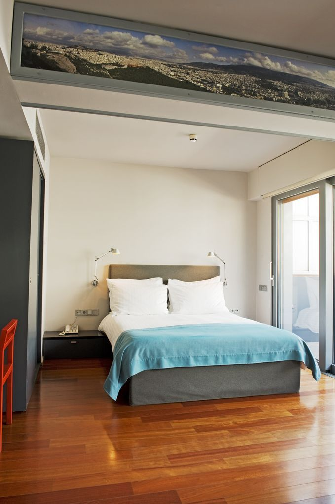 Understated luxury defines the guestrooms' décor at Periscope Hotel, where modern interiors meet the latest technology!