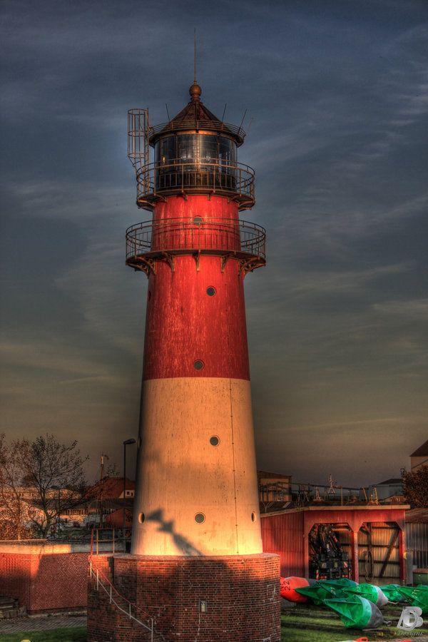 Buesum Lighthouse by IndianRain.deviantart.com on @deviantART
