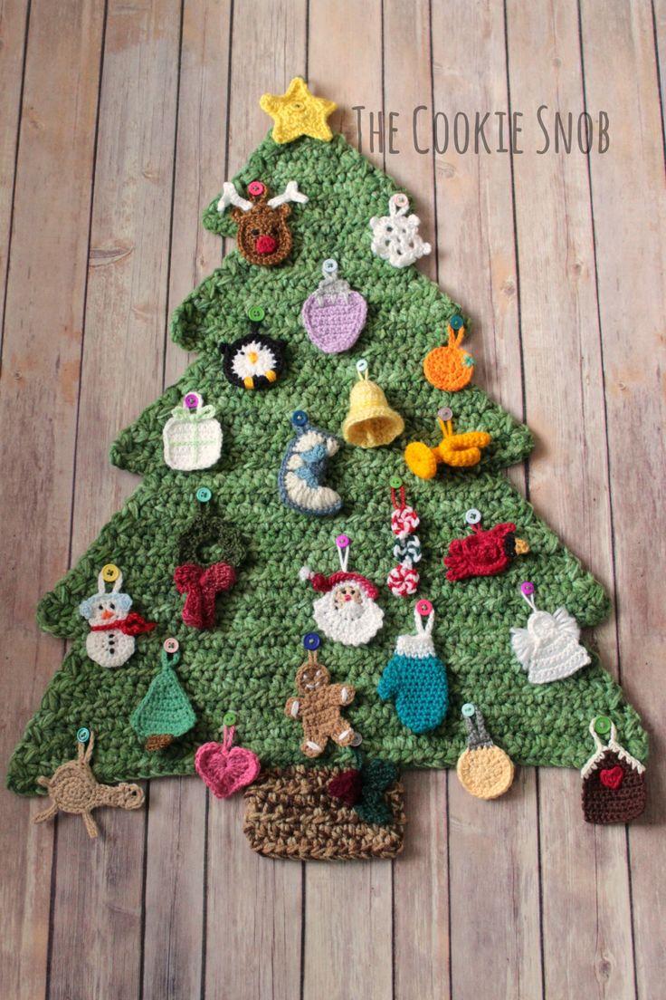 Christmas Tree Advent Calendar Crochet Pattern