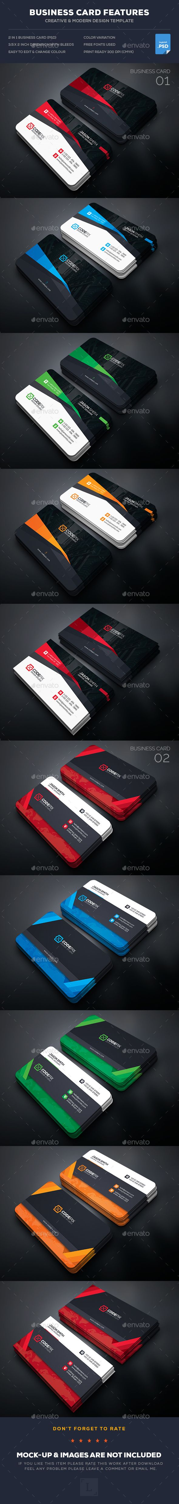 22 best top amazing and professional business card templates