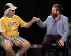 Between Two Ferns with Zach Galifianakis - OMG they are all SO funny. The one with Bruce Willis is one of the funniest.