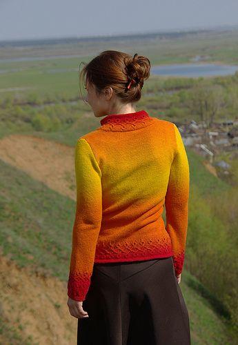 7 кауни пуловер