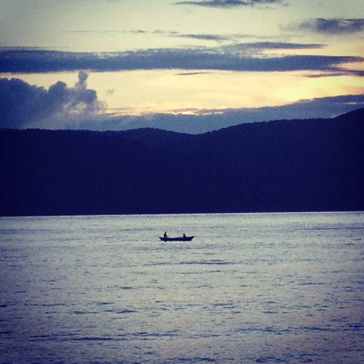 Fishermen returning at Andamans