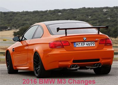 2016 BMW M3 changes review : http://car-price-review.blogspot.com/2015/05/2016-bmw-m3-changes-2-extra-colors-and.html