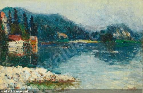 Kandinsky - Kochel Lake 1902