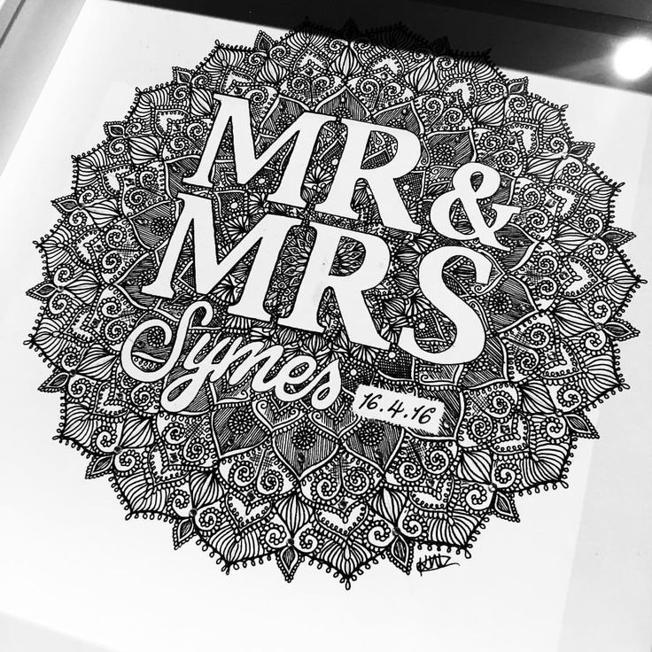 For a Newly Married Couple  #personalised #madebyhand #supporthomemade #fineliner #penart #mrandmrs #marriage #wedding #weddinggift #weddinggifts