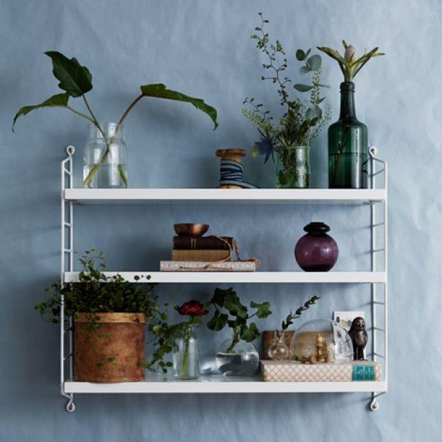 greenicheさんの、greeniche,カフェ風,スウェーデン,北欧,観葉植物,ナチュラル,バス/トイレ,stringpocket,White,stringshelf,のお部屋写真