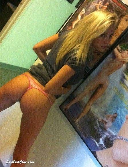 Blonde teen asses all not know