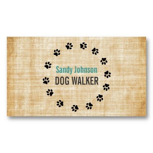 Dog Walker Walking Pet Sitting Services Business
