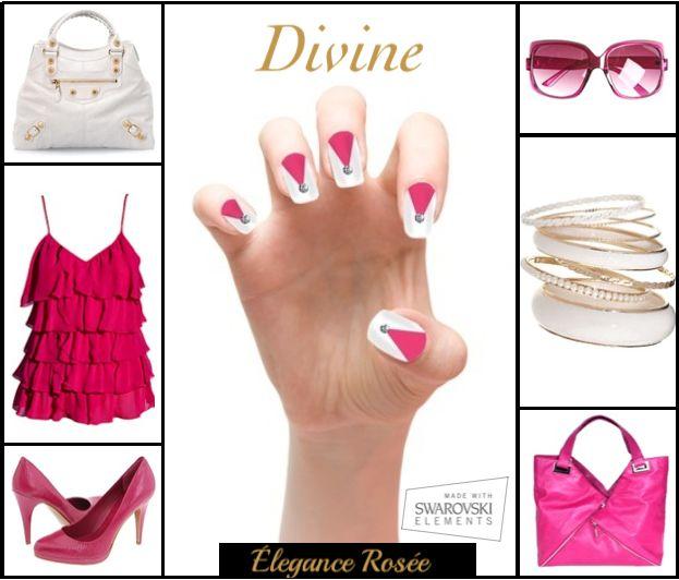 Elégance Rosée. Exclusively on indiegogo http://bit.ly/1hwPOZj  Made With Swarovski Elements