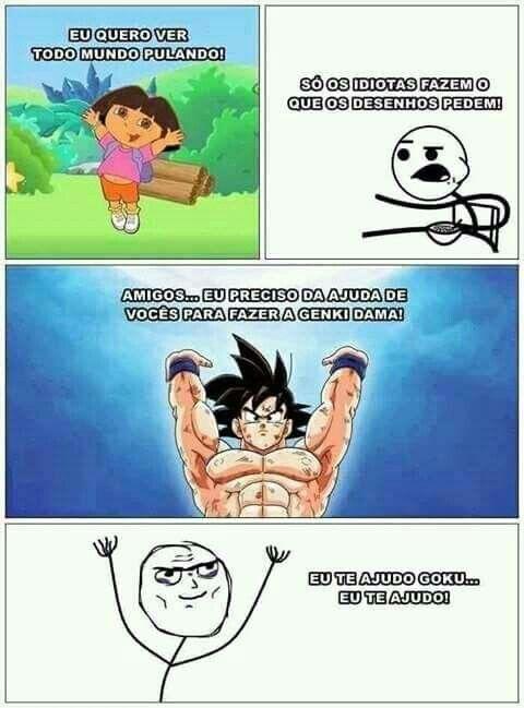Mas Dragon BallbZ é ANIME e não DESENHO
