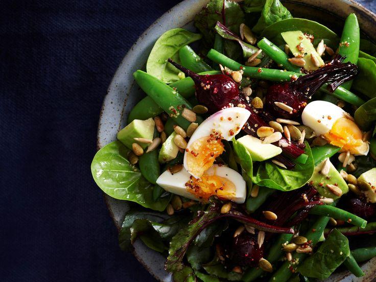 #spinach #egg #salad #recipes