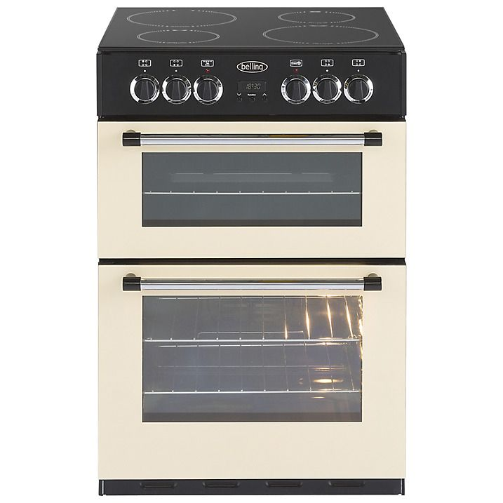 Buy Belling Classic 60e Freestanding Electric Cooker, Cream Online at johnlewis.com