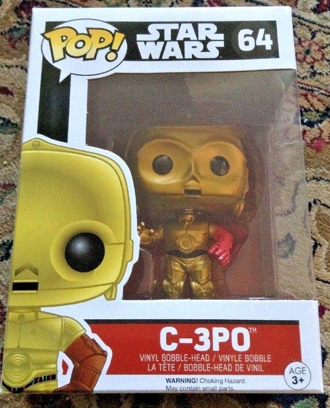 Star Wars The Force Awakens C-3Po Vinyl Figure Funko Pop