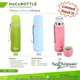 HoCo Bottle Thermos | New Product Twin Tulipware 2013