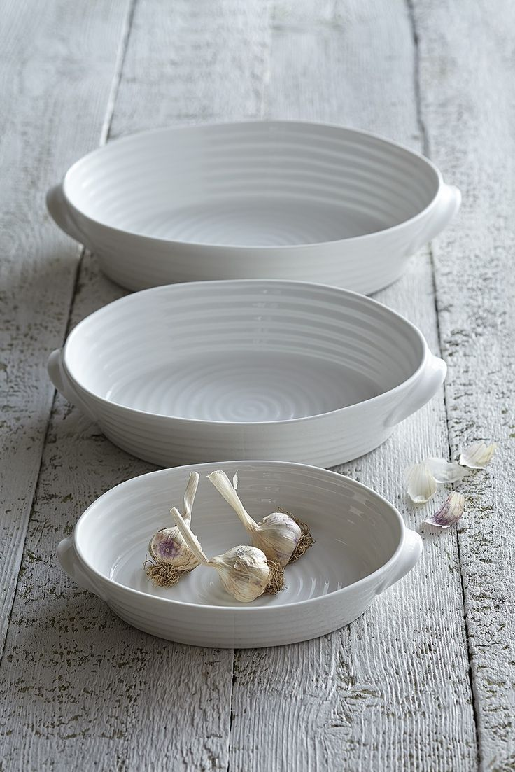 White Ceramic Oval Roasting Dishes from & 68 best Claire\u0027s Crockery images on Pinterest | Sophie conran ...