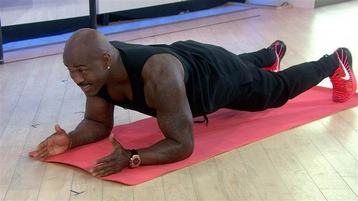 How to do a perfect plank: 'Biggest Loser' trainer Dolvett Quince shows how - TODAY.com