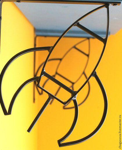 Детская ручной работы. Ярмарка Мастеров - ручная работа. Купить кронштейн  для полки. Handmade. Кронштейн, полка для книг, полка