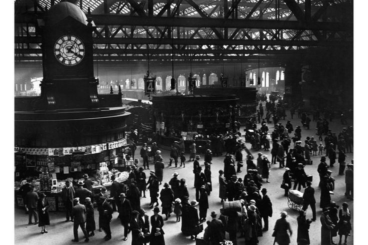 Glasgow central station 1920