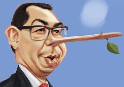 ponta-pinocchio      Jurnalistul Stelian Negrea l-a prins pe Victor Ponta cu o noua minciuna!