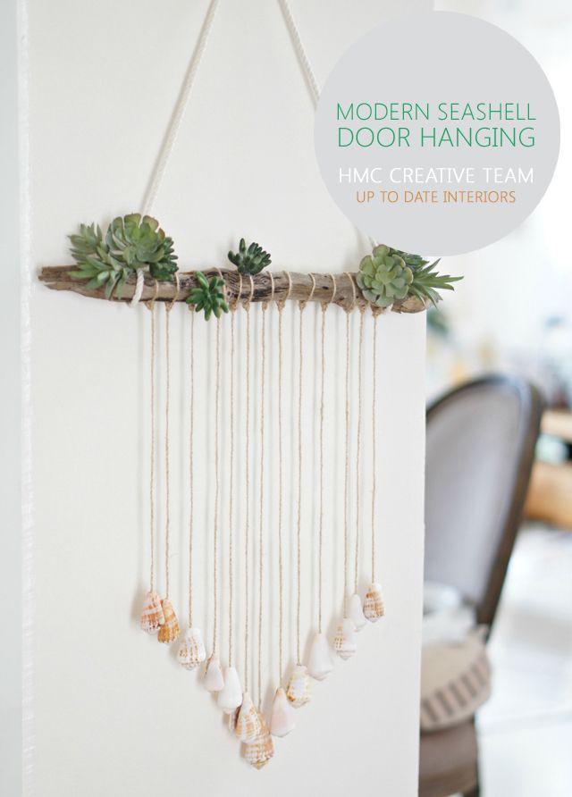 Modern Seashell Door Hanging