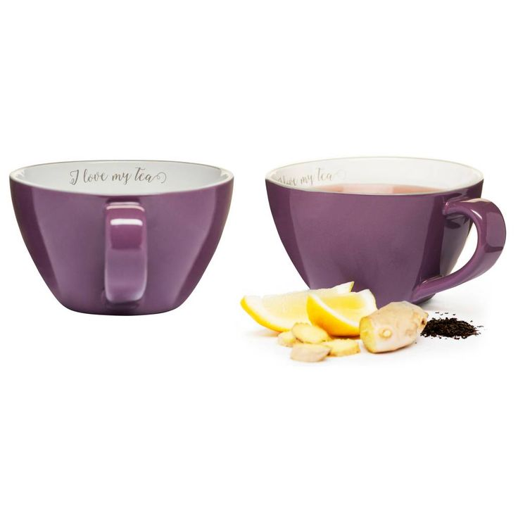 product image for Sagaform® Tea Mugs in Purple (Set of 2)