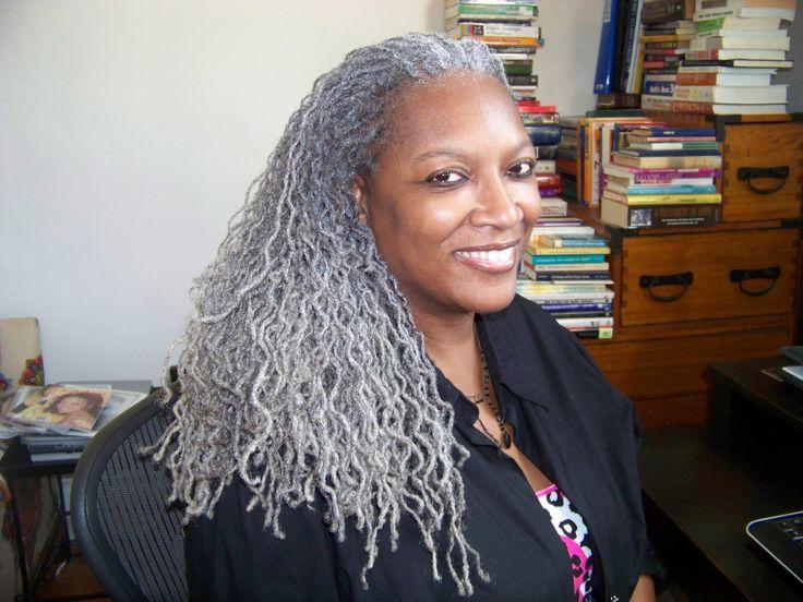 Gray Natural Hair Styles: Sisterlocks On Grey Hair