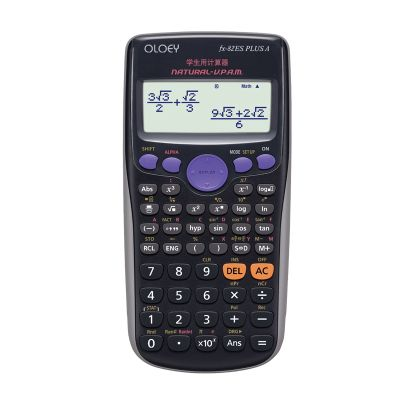 Scientific Calculator Dual Power Calculadora Multifunctional Counter Calculating Machinelator 10 digits 2 lines display. Click visit to buy #Calculator