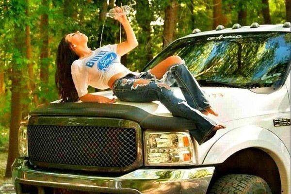 Cummins Vs Powerstroke >> # Country Girl Diesel truck | Nine | Pinterest | Diesel trucks, Country girls and Diesel