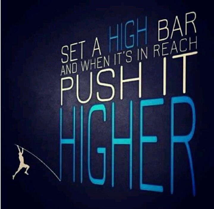 I am a pole vaulter, but none the less its still great advice. Determined to get 8.6 or 9 ft this year