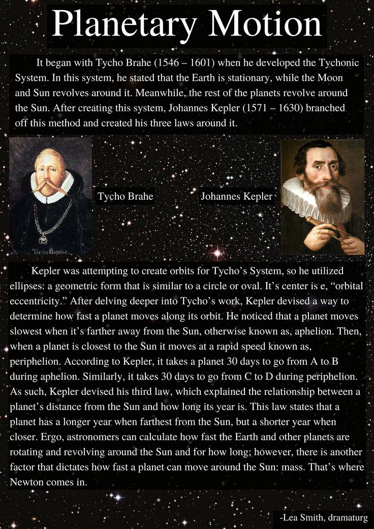 Kepler and Planetary Motion