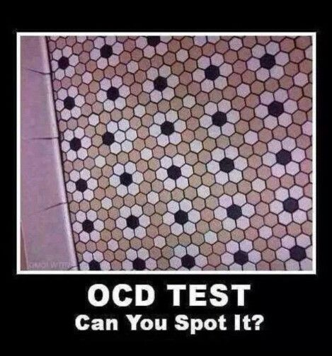OCD Test - can you spot it?I literally spotted it in a 10th of a sec.