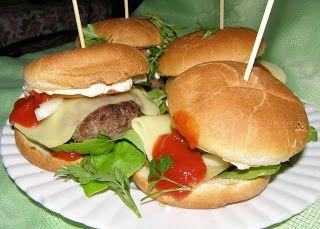 W Mojej Kuchni Lubię.. : hamburgery domowe...
