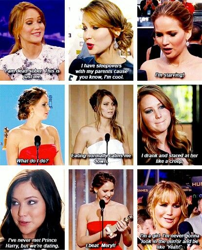I love Jennifer Lawrance
