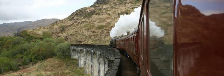 The Jacobite - steam train