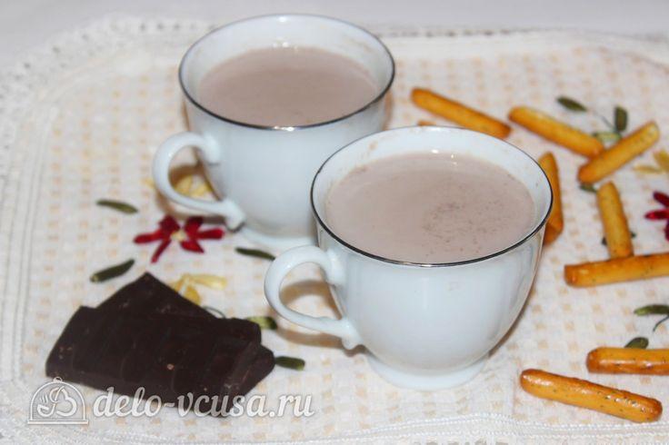 Какао на молоке #какао #молоко #напитки #рецепты #деловкуса #готовимсделовкуса