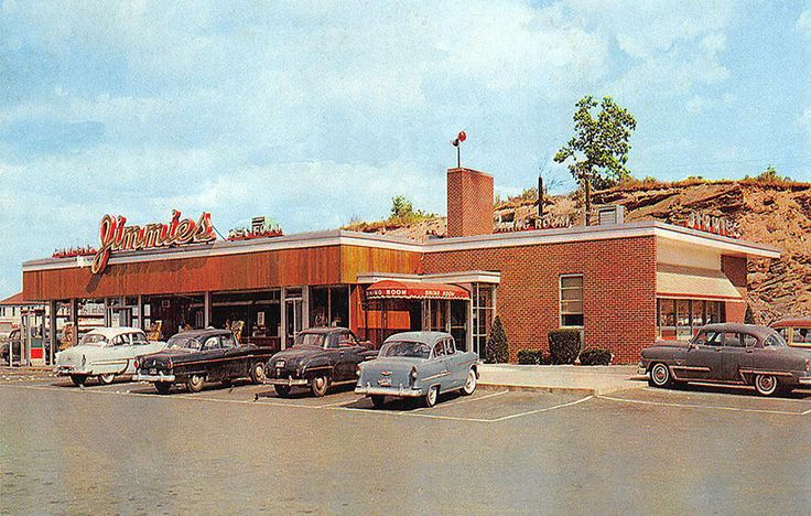 Savin Rock West Haven CT Jimmie's Drive-In Restaurant Old Cars Photograph