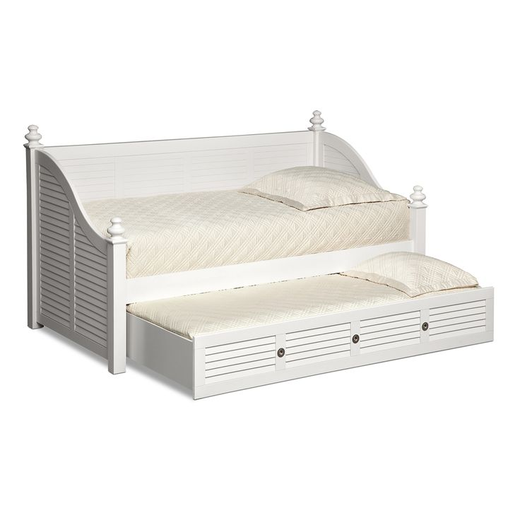 Kids Furniture - Seaside White II Daybed with Trundle from Value City Furniture $949