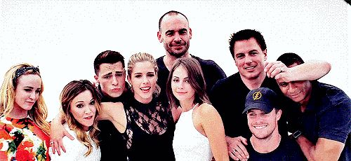 """This is (more or less) the cast of Arrow. 