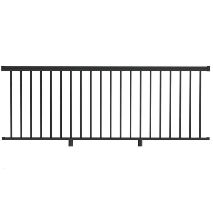 Best Freedom Versarail 36 In Black Aluminum Porch Railing Kit 400 x 300